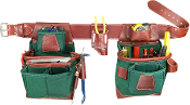 Occidental Leather 8585 Heritage FatLip Tool Bag Set