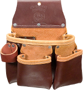 Occidental Leather 5017DBLH - 3 Pouch Pro Tool Bag - Left Handed