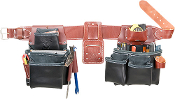 Occidental Leather B5080DB Pro Framer Tool Bag Set - Black