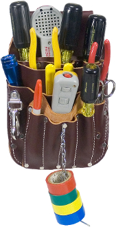Occidental Leather 5049 Telecom Pouch