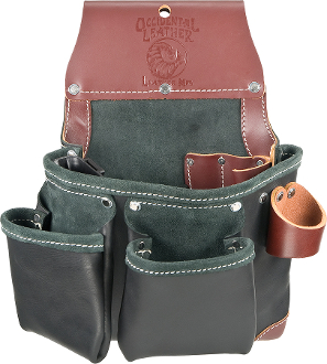 Occidental Leather B5612 Green Building™ Tool Bag- Black