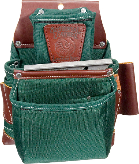 Occidental Leather 8060 Oxy Lights™ 3 Pouch Fastener Bag