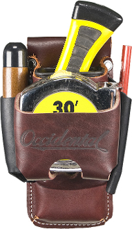 Occidental Leather 5523 - Clip-On 4 in 1 Tool/Tape Holder