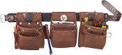 Occidental Leather 8385 - Black Belt Rough Framer™ Tool Belt Set