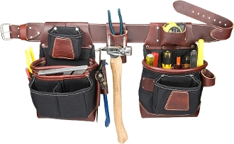 Occidental Leather 8580 FatLip Tool Bag Set