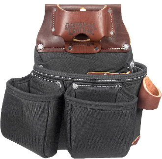 Occidental Leather B8018DB Black OxyLights™ 3 Pouch Tool Bag