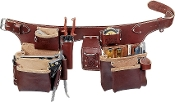 Occidental Leather 5191 -Pro Carpenter's 5 Bag Toolbelt Assembly