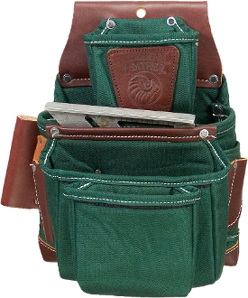 Occidental Leather 8062LH - OxyLights 4 Pouch Fastener Bag - LH