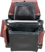 Occidental Leather B5060LH- 3 Pouch Pro Fastener Bag - Left Hand