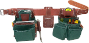 Occidental Leather 8080DB OxyLights Framer Tool Belt Package